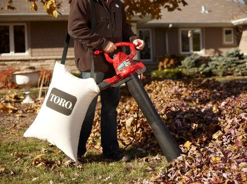 Toro Ultra Electric Leaf Blower / Leaf Vacuum / Leaf Shredder