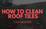 How To Clean Roof Tiles