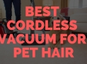 Best Cordless Vacuum for Pet Hair